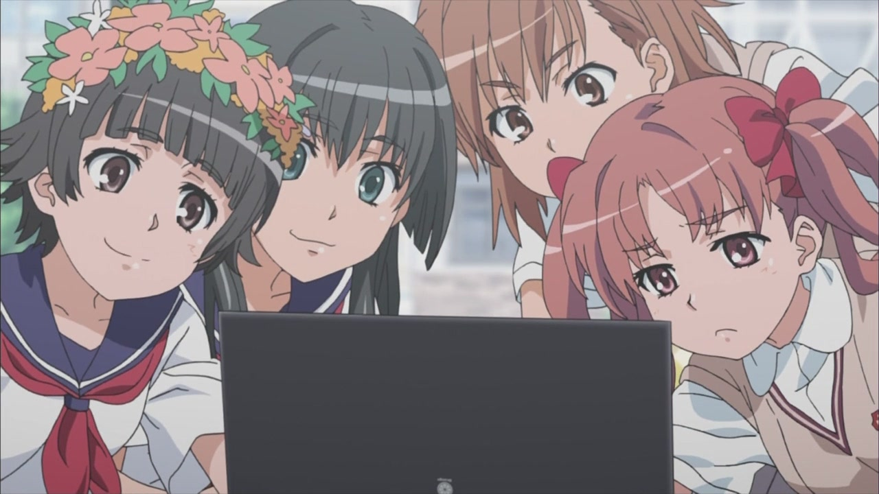 To Aru Kagaku no Railgun Screenshot