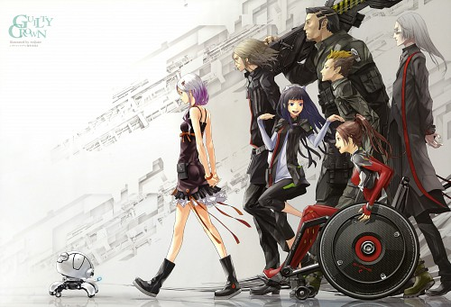 redjuice, Production I.G, GUILTY CROWN, Guilty Crown Visual Collection, GUILTY CROWN - redjuice's Notebook