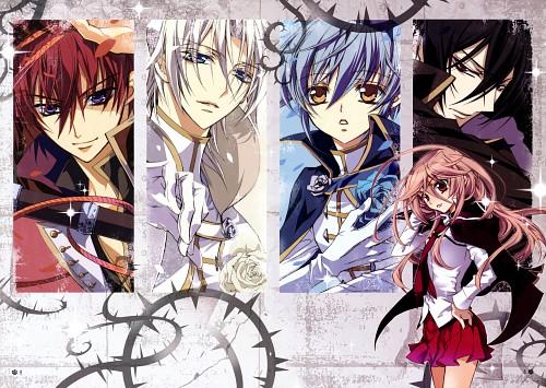 Aya Shouoto, Kiss of Rose Princess, Mitsuru Tenjoh, Mutsuki Kurama, Seiran Asagi