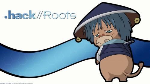 Yoshiyuki Sadamoto, .hack//Roots, Grunty, Vector Art Wallpaper