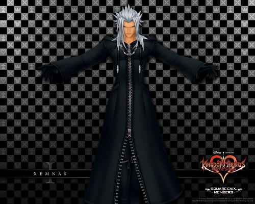 Square Enix, Kingdom Hearts, Xemnas, Official Wallpaper