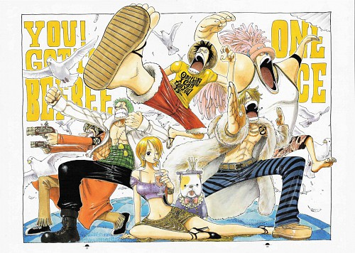 Eiichiro Oda, Toei Animation, One Piece, Color Walk 3 - Lion, Nami