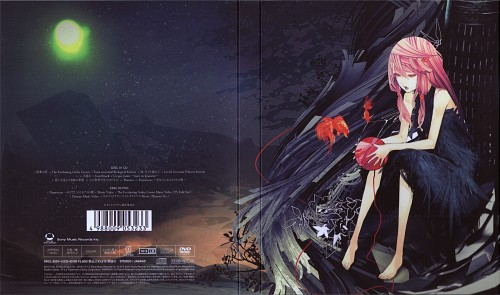 redjuice, Production I.G, GUILTY CROWN, Inori Yuzuriha, Album Cover