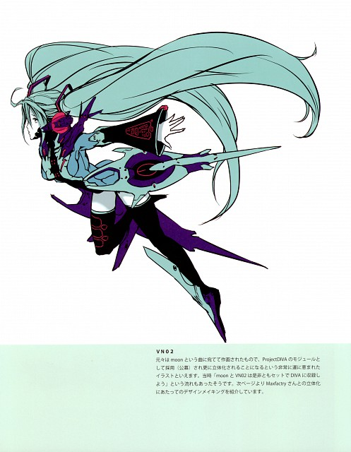 Nagimiso, Quantum Singer Illustrations Reactor Girl, Vocaloid, Miku Hatsune