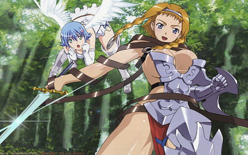 Queen's Blade, Nanael, Reina (Queen's Blade) Wallpaper