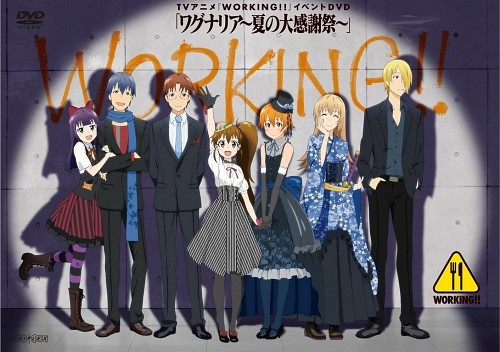Karino Takatsu, A-1 Pictures, Working!!, Jun Satou, Poplar Taneshima