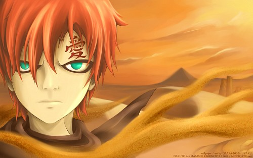 Masashi Kishimoto, Studio Pierrot, Naruto, Gaara, Member Art Wallpaper