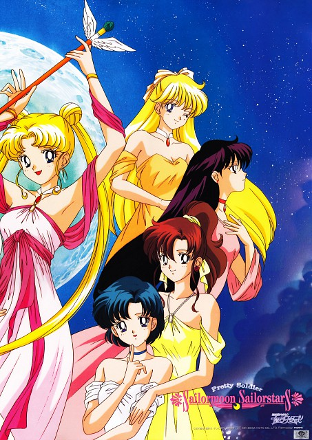 Naoko Takeuchi, Toei Animation, Bishoujo Senshi Sailor Moon, Minako Aino, Makoto Kino