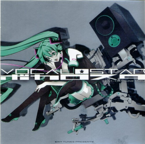 Miwa Shirow, Vocaloid, Miku Hatsune, Album Cover