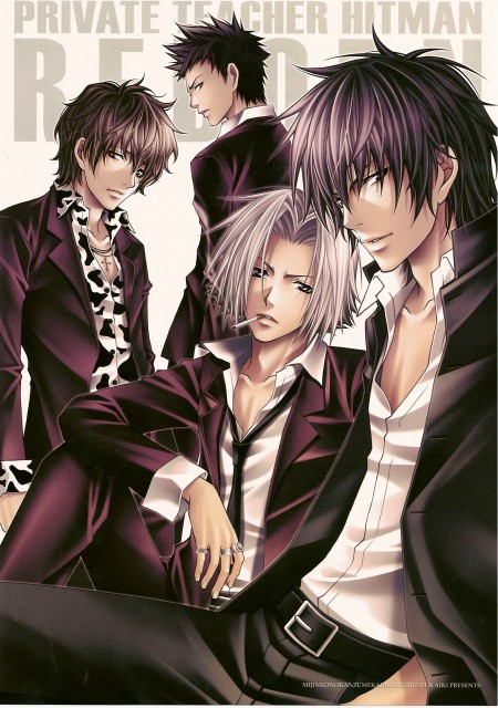 Aiki Ren, Katekyo Hitman Reborn!, Hayato Gokudera, Kyoya Hibari, Lambo