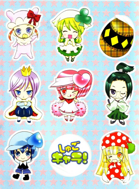 Peach-Pit, Satelight, Shugo Chara, Shugo Chara! Illustrations, Miki