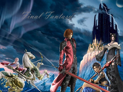 Square Enix, Final Fantasy XIII, Final Fantasy VII: Crisis Core, Final Fantasy X, Final Fantasy VII Wallpaper