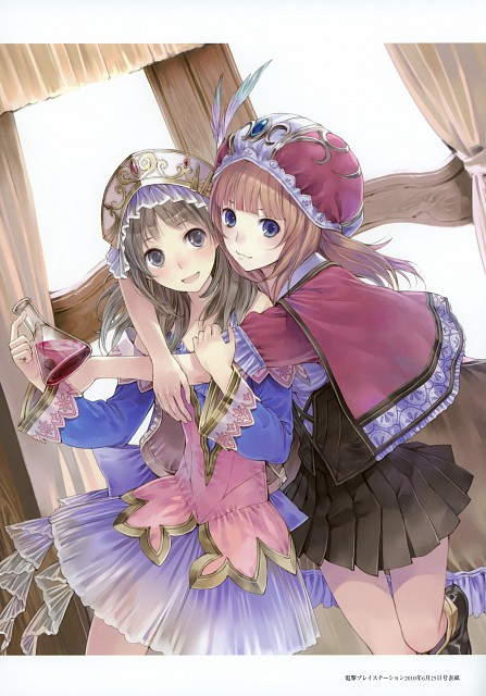 Mel Kishida, Atelier Rorona & Totori Art Book, Atelier Totori, Atelier Rorona, Rororina Frywell