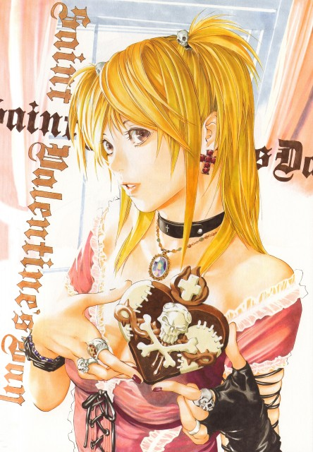 Takeshi Obata, Death Note, Blanc et Noir, Misa Amane
