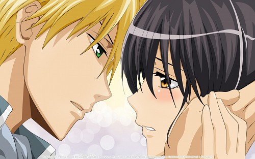 Hiro Fujiwara, J.C. Staff, Kaichou wa Maid-sama!, Takumi Usui, Misaki Ayuzawa Wallpaper