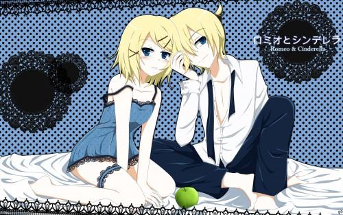 Vocaloid, Len Kagamine, Rin Kagamine, Member Art Wallpaper