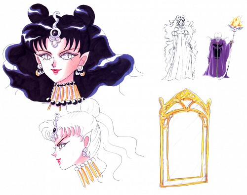 Naoko Takeuchi, Toei Animation, Bishoujo Senshi Sailor Moon, Queen Nehelenia, Zirconia