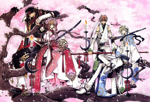 CLAMP, Bee Train, Tsubasa Reservoir Chronicle, Sakura Kinomoto, Fay D. Flourite