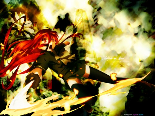 Shakugan no Shana, Flame Haze Shana, Shana Wallpaper