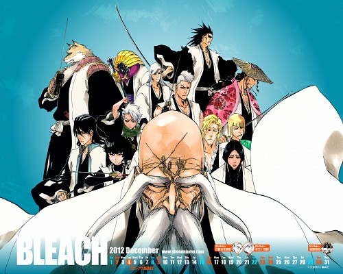 Kubo Tite, Bleach, Kenpachi Zaraki, Juushirou Ukitake, Toshiro Hitsugaya