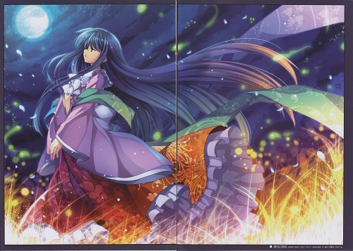 Capura Lin, SYLPHEED - TO-HO Series Illustration Books Vol.8, Touhou, Kaguya Houraisan