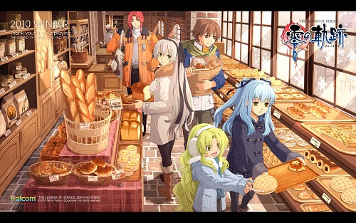 Falcom, The Legend of Heroes: Zero no Kiseki, Randy Orlando, Tio Plato, Lloyd Bannings