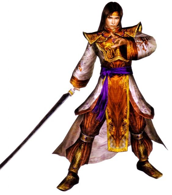 Koei Studio Dynasty Warriors Game Zhou Yu Character Zhou Yu Dynasty Warriors 8