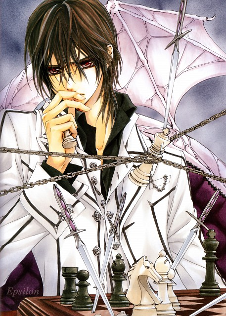 Matsuri Hino, Vampire Knight, Hino Matsuri Illustrations Vampire Knight, Kaname Kuran