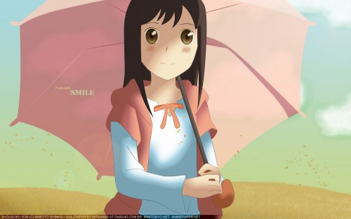 Makoto Shinkai, Five Centimeters Per Second, Akari Shinohara Wallpaper