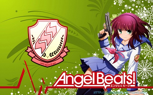 Na-ga, Key (Studio), P.A. Works, Angel Beats!, Yuri (Angel Beats!) Wallpaper
